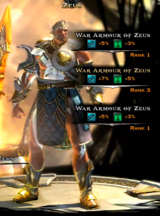 War Armor of Zeus