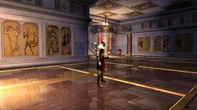 Salón interior de la Plaza de Atenas