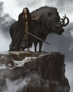 Freya and the boar