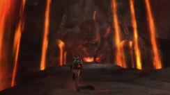 Kratos raggiunge Thera