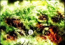 La morte di Gige e la distruzione dell'Ambrosia