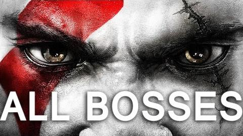 God of War 3 Remastered ALL Bosses and Ending on PS4 (1080p 60fps)