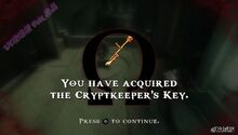 Schlüssel des Gefängnisaufsehers