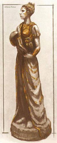 Estatua de Atenea
