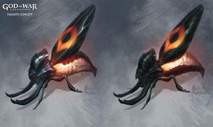 Megaera's parasites concept art
