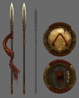 Armas de Esparta
