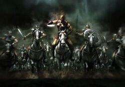 El ejercito del General Kratos
