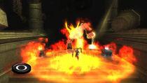 Kratos utilizando al Genio 2