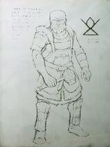 Brok Zeichnung