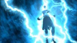 Kratos adquiriendo la Ira de Poseidón
