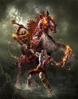 Kratos vs Rey Bárbaro