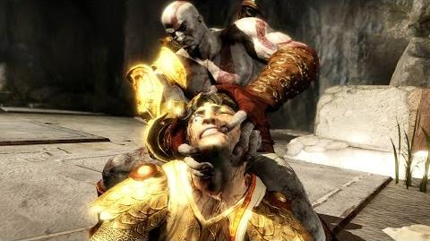 God of War 3 Remastered Helios Boss Fight PS4 (1080p 60fps)