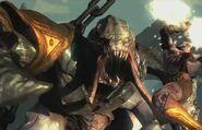 20130326152229!Kratos atacando a una Mano de Egeón