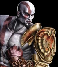 Avatar de kratos en mortal kombat (2011)