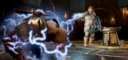 Modi stuns Kratos