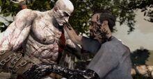 Kratos orkos chiede onorevole morte