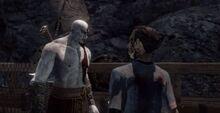 Kratos scaccia orkos porto cirra