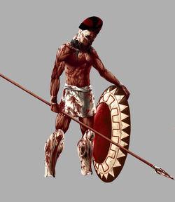 Spartan Hoplite by PepperWolf-1-