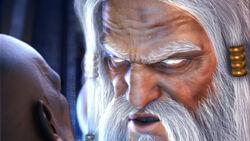 Zeus mata Kratos GOW2
