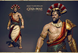 King of Sparta 3D model