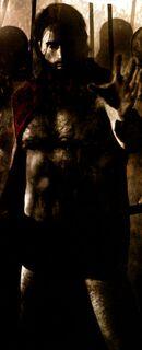 Soldado espartano de God of War Comics