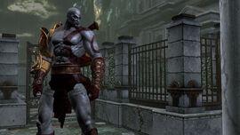 Kratos en los Jardines del Olimpo