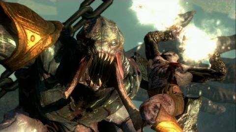 God of War Ascension Aegaeon the Hecatonchires Boss Fight