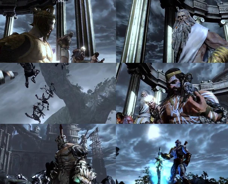 God of War III Walkthrough - The Olympian Citadel HD - YouTube