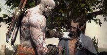 Orkos raggiunge kratos sparta
