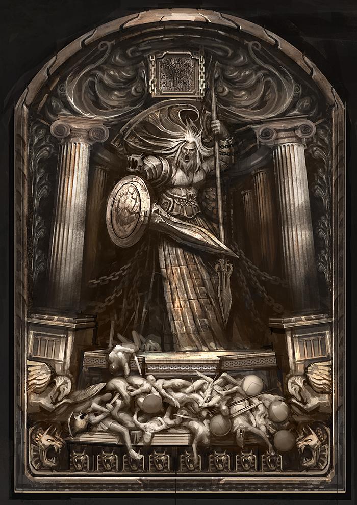 Tomb of Ares\u0027 door.jpg & Image - Tomb of Ares\u0027 door.jpg | God of War Wiki | FANDOM powered by ...