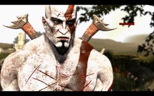 Kratos after battle