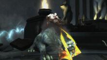 Kratos bestia morfeo tempio elio