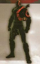 Traje fear kratos god of war 3
