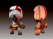 Kratos en LittleBigPlanet-3