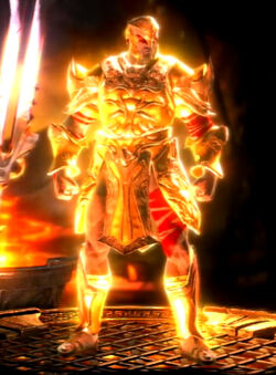 Godly War Armor of Ares