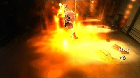 God of War Chains of Olympus HD - The Efreet Magic Power.