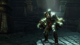 Kratos con los Cestus de Nemea