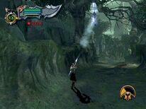 Kratos con la Perdición de Tifón