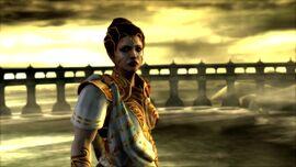 Atenea en Ghost of Sparta