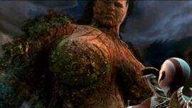 Gaia con kratos GOW ll
