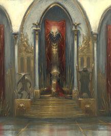 Sala del Trono de Kratos - GOW