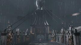 Kratos accediendo al Foro