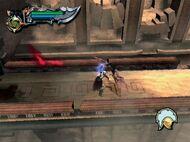 Kratos en un puente del desafio