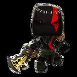 Kratos del Miedo en LittleBigPlanet 3