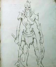 Draugr doble arma (códice)