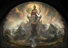 Pintura del Oráculo Alétheia 3