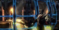 Kratos distruzione gabbia inchiostro furie aletto tisifone occhi verità