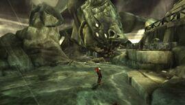 Kratos frente a Escila