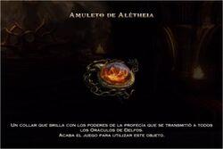 Amuleto de Alétheia