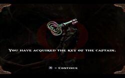 Llave del Capitán - GOW